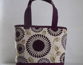 Adore Mulberry Fabric Tote Bag - READY TO SHIP