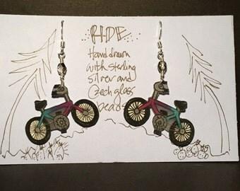 """Earrings """"Ride"""""""