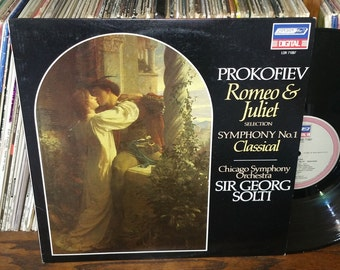 Prokofiev Romeo & Juliet Vintage Vinyl Record