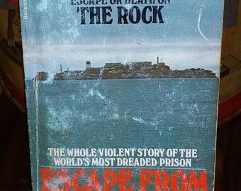 Escape From Alcatraz Vintage Paperback Book