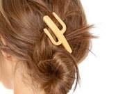 Cactus Hair Clip (Howdy)