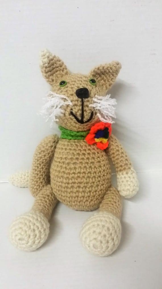 Amigurumi Care Instructions : Amigurumi/Cat/Stuffed Animal/Stuffed Kitty/Plush Animal/Plush