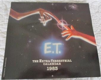 Vintage E T Calendar 1983 New Vintage