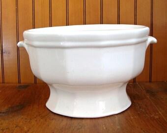 Ironstone Tureen, No Lid, Ironstone Bowl