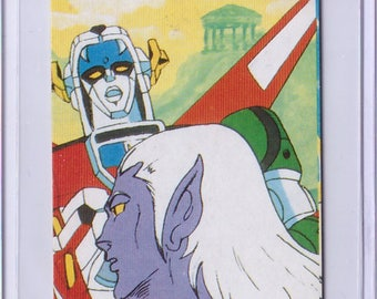 Rare 1984 Voltron Card from JAPAN 22