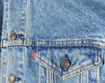 The Vintage Wash Levi Strauss Denim Jean Jacket