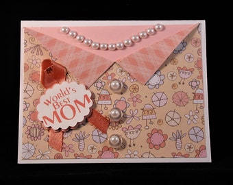 Mother's Day Dress Card (Peach)