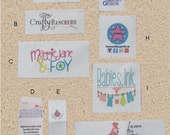 Custom Clothing Labels-in Organic Cotton-Sew in labels