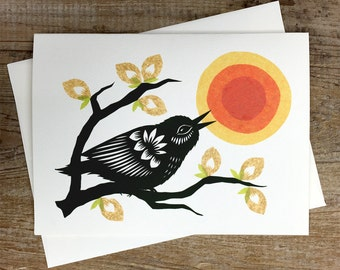 Sunsong - Greeting Card