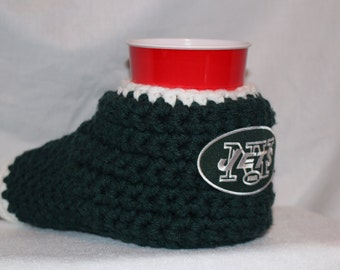 Ready to ship - New York Jets Drink Mitt  - The mitten with the drink holder