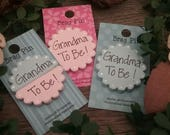 Grandma To Be Brag Pin, New Grandma, Grandma Gift, Baby Shower Gift, Baby Reveal, Birth Announcement