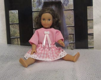 6 inch American Girl Mini doll clothes skirt shirt blouse