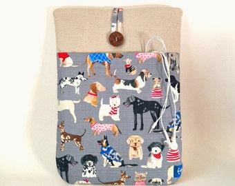 Dog MacBook 12 inch Case, Dog Laptop Cover, 12 Mac Book Sleeve, 12 inch MacBook Case, Canine Dog Laptop Bag Labrador Dalmatian Poodle Pug