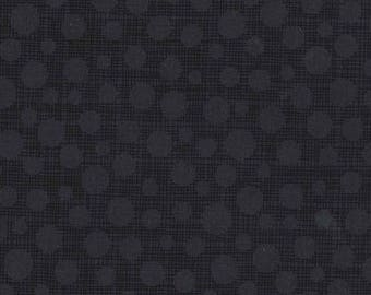 Michael Miller Fabric Hash Dot in color Charcoal, Choose your cut