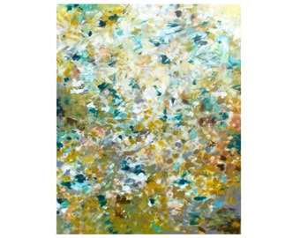 Abstract Painting, Large Canvas Wall Art, Impressionist Expressionist, Earth Tones, Natural Colors, Modern Contemporary Fine Art