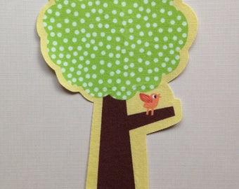 Fabric Iron On Tree Applique