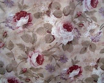 "Raymond Waites Vintage Garden for Mill Creek Fabrics  58"" x 40"""