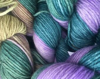 Alpaca Yarn, 100% Superfine Alpaca, DK Weight, Paca-Paints, Wisteria Way