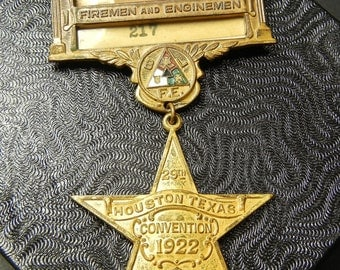 Brotherhood of Locomotive Firemen and Enginemen Convention Pin