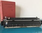 Vintage Royal Quiet De Luxe Typewriter Carriage