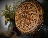 Amore l'Infini Pentacle - One of a Kind Altar Art