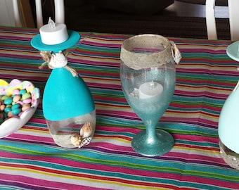 Ocean Breeze Tea Light Holder