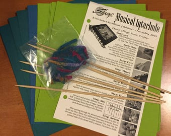 Great Piano Hinge Book Kit!  - Most Supplies & Instructions! - Free US Shipping