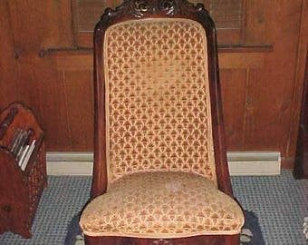 Vintage Victorian 1900s Rocking Chair Upholstered Good Condition Local PICKUP Only
