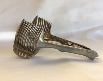 Vintage Egg Slicer Tongs