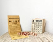 Vintage Bingo Game by Milton Bradley Company, Set 4002