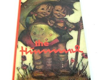 The Hummel Drawings by Berta Hummel with Light Verse, Vintage Book