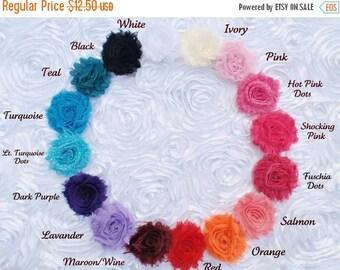 30% OFF SPRING SALE Set of 5 Flower Hair Clips, U Choose Colors, Newborn Headband, Infant Headband, Baby Headband, Flower Girl, Baby Shower