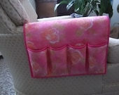 Custom order request from robbare32 . Remote control holder / bedside organizer