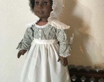 Betsy Ross Style Outfit for 18 inch doll