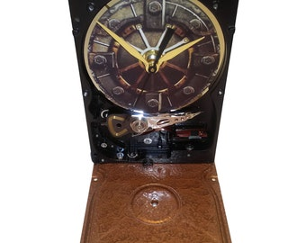 Hard Drive Clock with Gamer Fallout 4 Vault Door. Got Game? Gifts for Guys. Got Gamer?