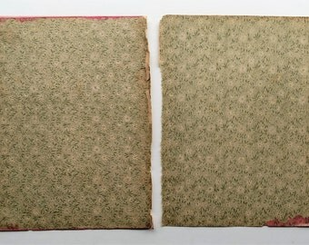 1888 Antique End Papers
