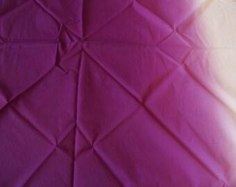Japanese Furoshiki Wrapping Cloth Purple White Worldwide Shipping