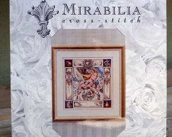 Mirabilia Cross Stitch Pattern Elizabeth and the Lavender Sky