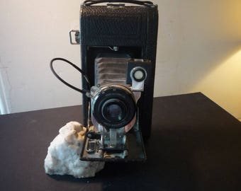 Vintage Ansco Semi-Automatic Folding Camera - 1919 Collectible - Excellent Condition - Beautiful gift for camera lovers photographers - prop