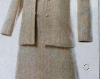Dress and Jacket Sewing Pattern UNCUT Butterick B4341 Sizes 10-16