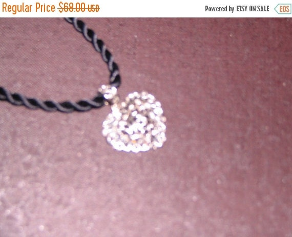 14k Gold Diamond Cut Heart Necklace--Stunning Gift--Hard Find--Low Price--FREE Gift Wrap