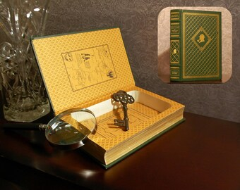 Hollow Book Safe (Great Cases of Sherlock Holmes)