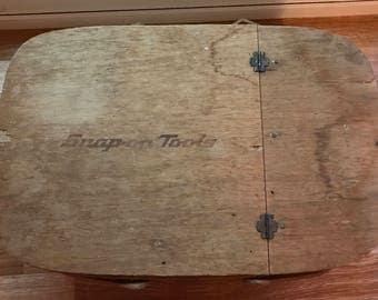 Vintage Snap On Tools Picnic basket
