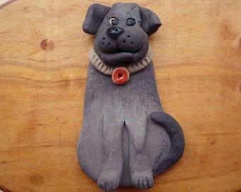 Black Lab Magnet Labrador Retreiver  Dog  Decoration