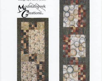 Tic Tac Toes, 1 Pattern, by Mountainpeak Creations, and Kari Nichols, Table Runner, Bed Runner, MPC379, 24.5 x 60.5 Bed, 24.5 x 84.5 Table