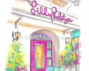 Lilly Pulitzer - Fine Art Print