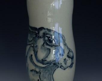 Bunny Vase Bunny Cup Hare
