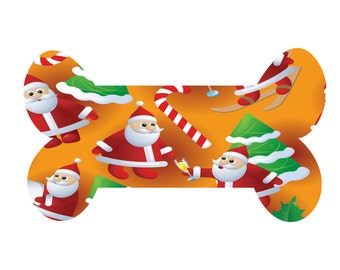 Christmas Dog Bone CD1-Digital Clipart-Gift Tag-Scrapbook-Gift-Cards-Banner-Background-Clipart-Christmas-Website-Notebook.
