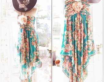 LG Boheme Stevie Nicks style Dress, Hanky hem maxi dress, Boho dresses, Spell n gypsy bohemian style dresses, Festival, True rebel Clothing