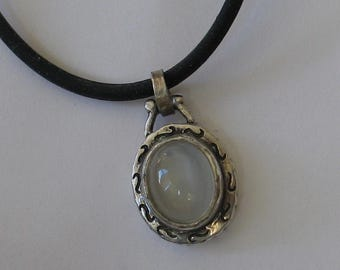 Jewelry Rescue   Sterling Moonstone Pendant